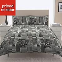 Chartwell Cityscape Black Single Bedding set