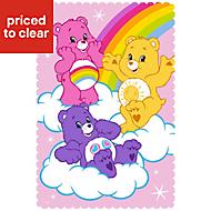 Care Bear Multicolour Fleece Blanket