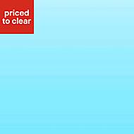 Vistelle Atoll Blue Glass effect Acrylic Splashback, (H)760mm (W)700mm (T)4mm