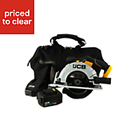 JCB 18V 165mm Cordless Circular saw JCB-18CS