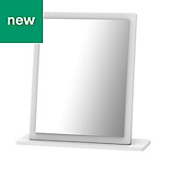 Chelsea Gloss Small mirror (H)505mm (W) 480mm