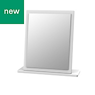 Warwick Painted effect Framed Rectangular Mirror (H)505mm (W) 480mm
