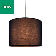 Colours Fairbank Midnight blue Classic Light shade (D)280mm