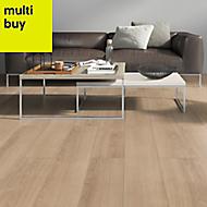 Marlow Natural oak effect Laminate flooring, 1.75m² Pack