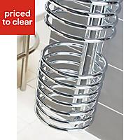 Kudox Loop 588W Towel warmer (H)1635mm (W)320mm