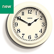 Jones Opers Linen white Clock