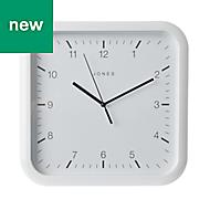 Jones Abacus White Alarm Clock