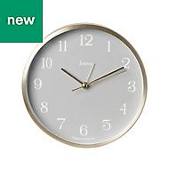 Jones Bronze effect Mantel Clock