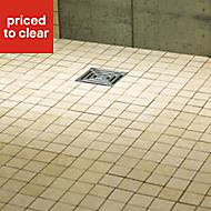 Aquadry Professional level access wet room kit (L)1200mm (W)900mm