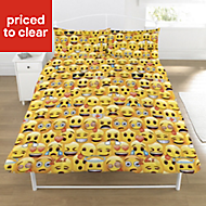 Emoji Yellow Double Bedding set