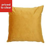 Plain Ochre Cushion