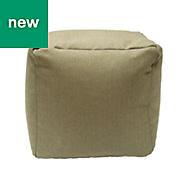 Woven Green Bean cube