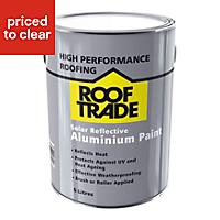 Rooftrade Silver Solar reflective aluminium paint 5000ml