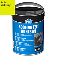 Roof pro Black Solvent-based adhesive 5000ml