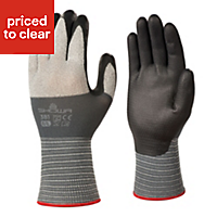 Showa Polyester High dexterity Gloves, Large