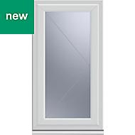 White PVC-U Side hung R/H Casement window (H)1040mm (W)610mm