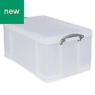 Really Useful Clear 64L Storage box