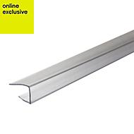 Clear Polycarbonate Axiome sheet glazing bar 3m x 15mm