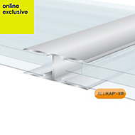 Alukap XR H Profile Jointing strip, (L)4m (W)25mm