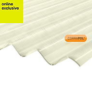 Clear Polyester Corrugated Roofing Sheet 2m x 950mm