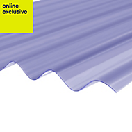 Clear PVC Corrugated Roofing Sheet 3m x 950mm