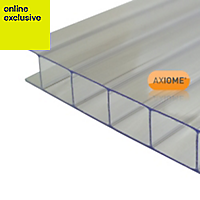 Clear Polycarbonate Twinwall Roofing Sheet 5m x 1000mm