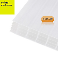 Opal effect Polycarbonate Multiwall Roofing Sheet 2.5m x 690mm