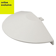 White Glazing bar accessory pack of 1