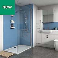 Splashwall Sky Matt 3 sided shower wall kit