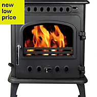 Hothouse Breeze Black Solid fuel Stove