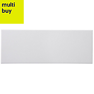 City chic Matt Ceramic Wall tile, Pack of 17, (L)400mm (W)150mm
