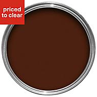 Colours Teak Gloss Wood & metal paint 0.75L