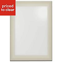 IT Kitchens Santini Gloss Grey Slab Cabinet door (W)500mm