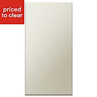 IT Kitchens Santini Gloss Grey Slab Cabinet door (W)600mm