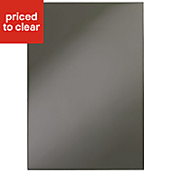 IT Kitchens Santini Gloss Anthracite Slab Standard Cabinet door (W)500mm