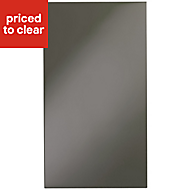 IT Kitchens Santini Gloss Anthracite Slab Standard Cabinet door (W)400mm