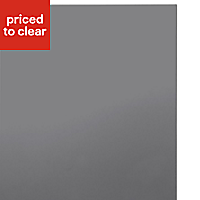 IT Kitchens Santini Gloss Anthracite Slab Standard Cabinet door (W)600mm