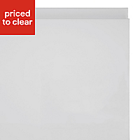 IT Kitchens Marletti Gloss White Standard Cabinet door (W)300mm