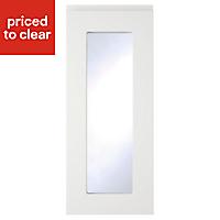 IT Kitchens Marletti Gloss White Glazed Cabinet door (W)300mm