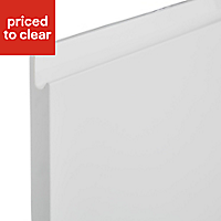 IT Kitchens Marletti Gloss White Integrated appliance Cabinet door (W)600mm