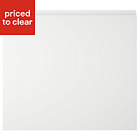 IT Kitchens Marletti Gloss White Oven housing Cabinet door (W)600mm