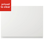 IT Kitchens Marletti Gloss White Belfast sink Cabinet door (W)600mm