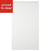 IT Kitchens Marletti Gloss White Standard Cabinet door (W)400mm