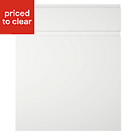 IT Kitchens Marletti Gloss White Drawerline door & drawer front, (W)600mm