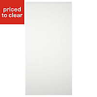 IT Kitchens Gloss White Cabinet door (W)600mm