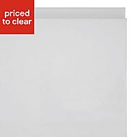 IT Kitchens Marletti Gloss White Bridging door & pan drawer front, (W)1000mm