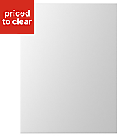 IT Kitchens Gloss White Slab Clad on base panel (H)890mm (W)620mm