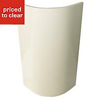 IT Kitchens Santini Gloss Cream Slab Wall external Cabinet door (W)300mm