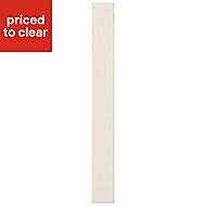 Cooke & Lewis Carisbrooke Ivory Standard door (W)150mm