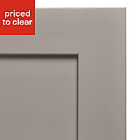 Cooke & Lewis Carisbrooke Taupe Integrated appliance Cabinet door (W)600mm